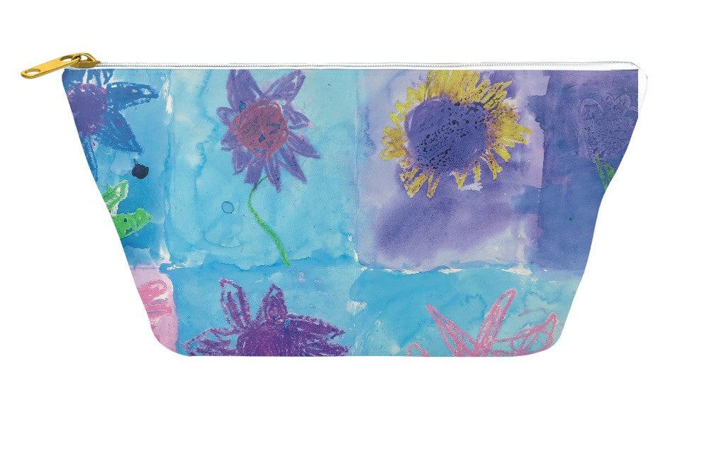Flowers Accessory Pouch