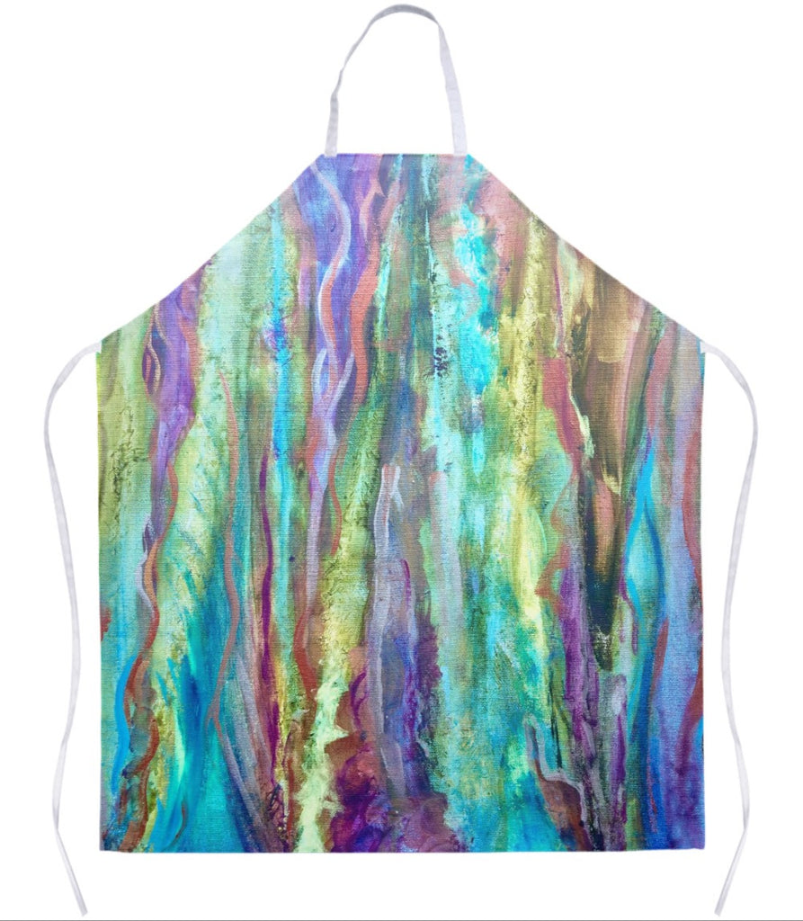Enchanting Abstract Apron