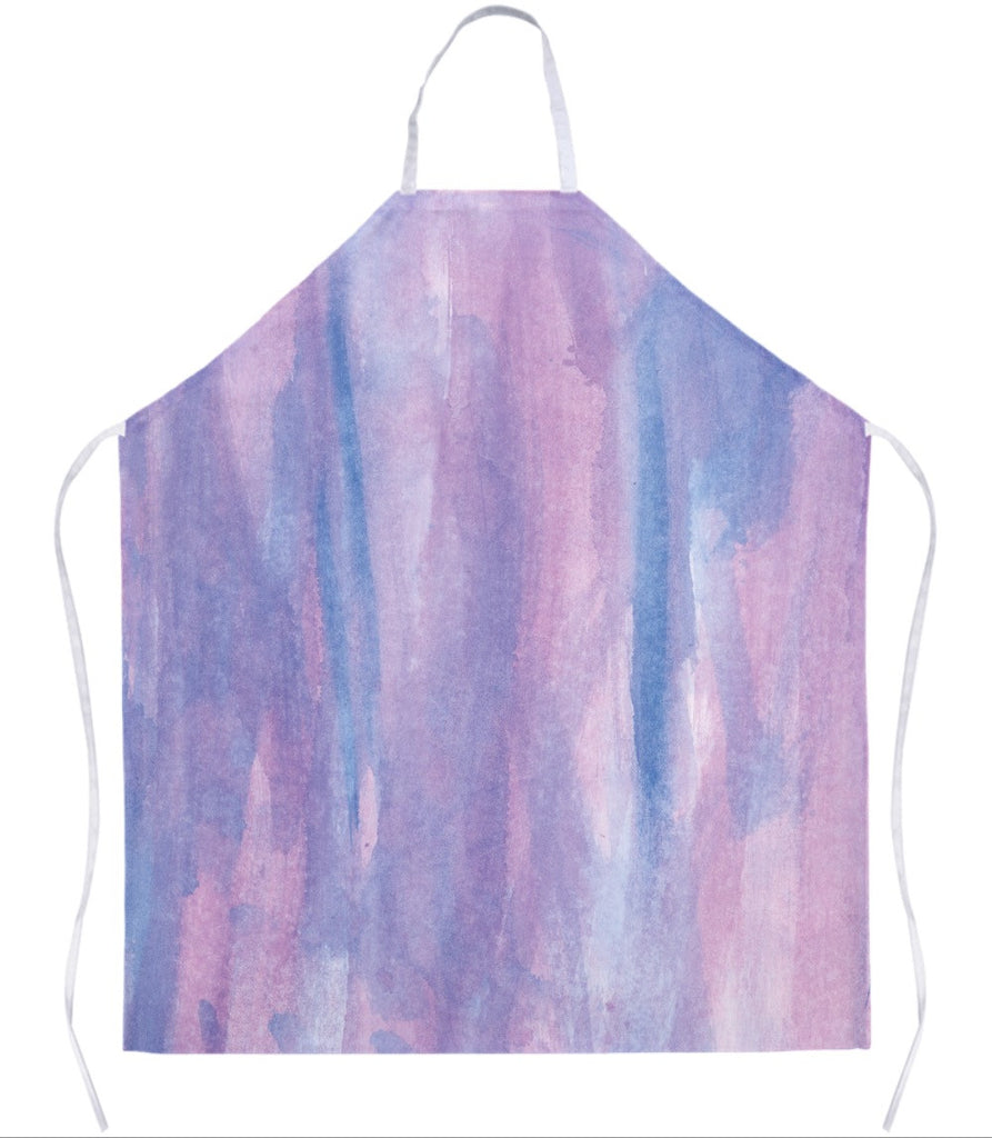 Purple Abstract Apron