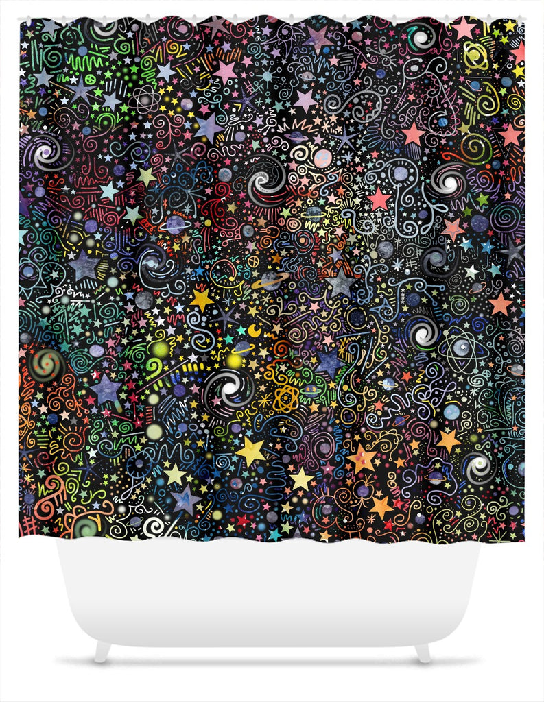 Explorer Shower Curtain
