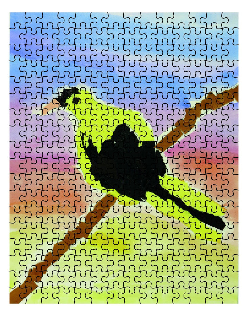 Bird on a Branch Jigsaw Puzzle