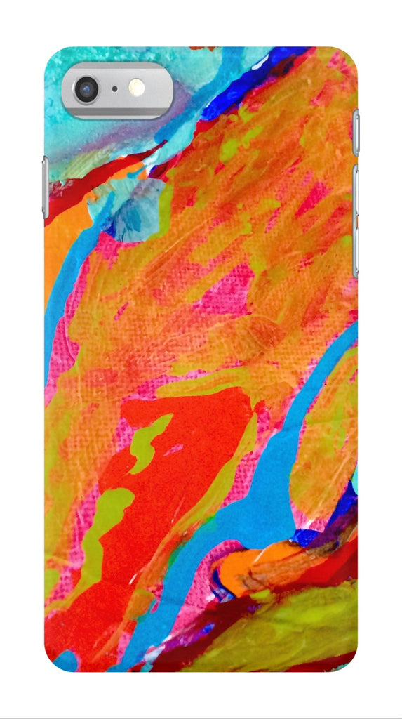 Marbled Paint Phone Case