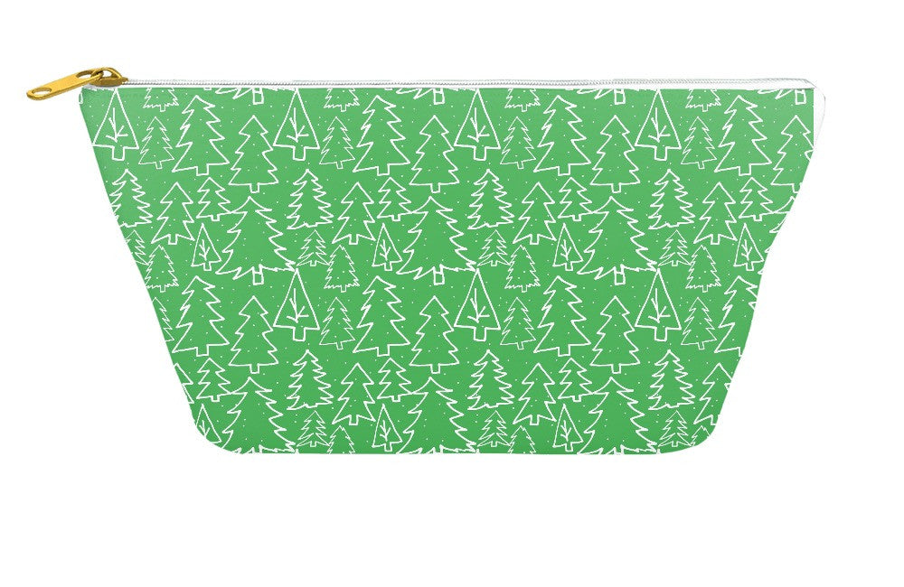 Christmas Trees Accessory Pouch