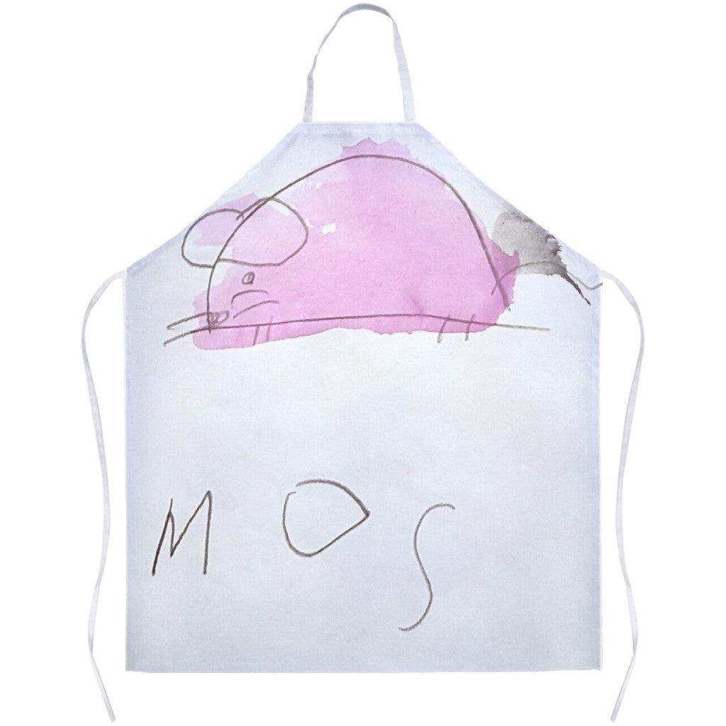 Pink Mouse Apron