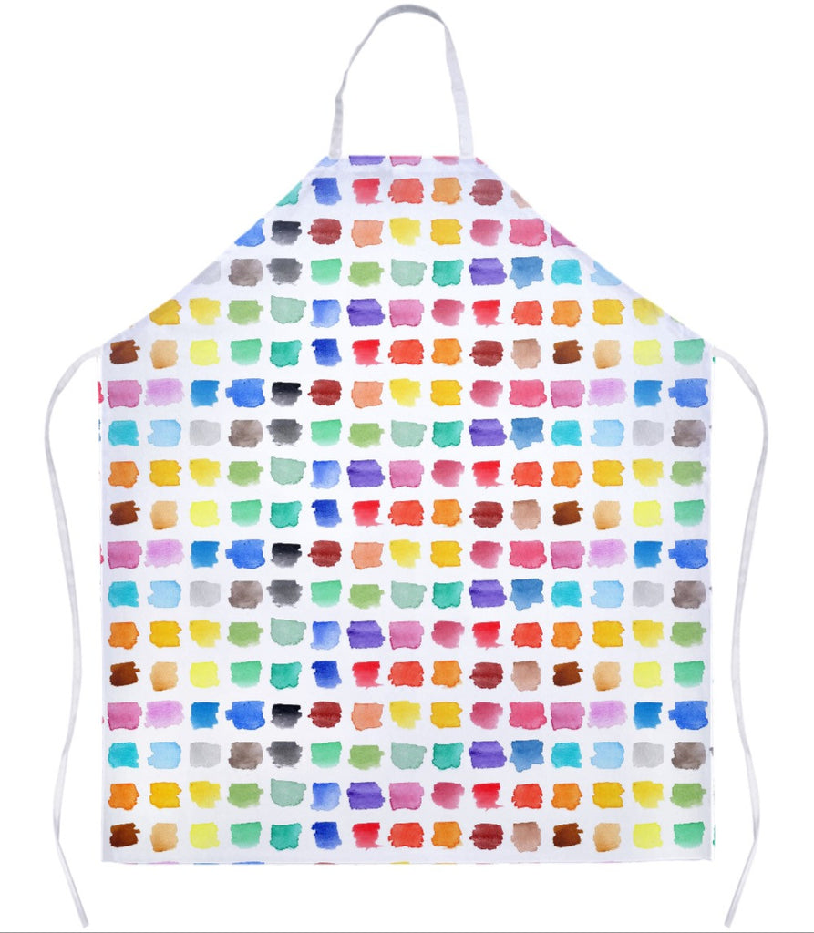 Watercolour Palette Apron