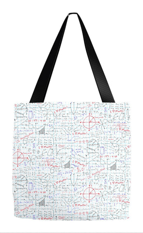 Math Lessons Tote Bag