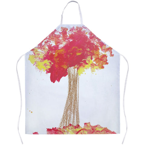 Red Tree Apron