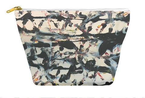 Abstract Tracks Accessory Pouch