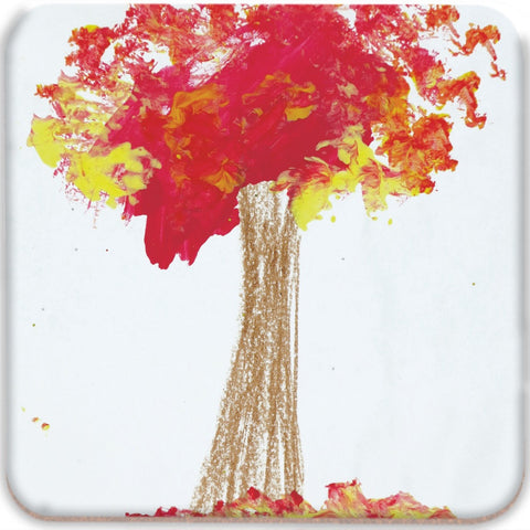 Red Tree Coasters