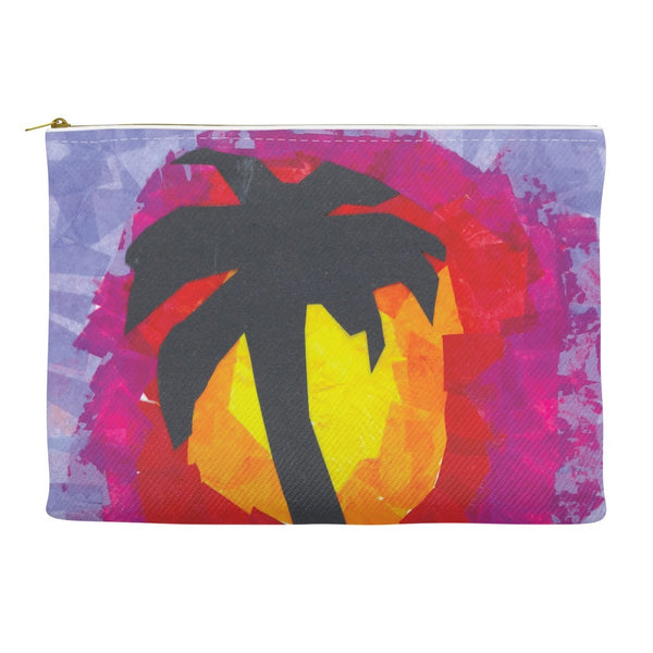 Tropical Sunset Accessory Pouch