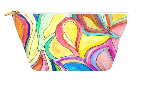 Bright Leaves Accessory Pouch