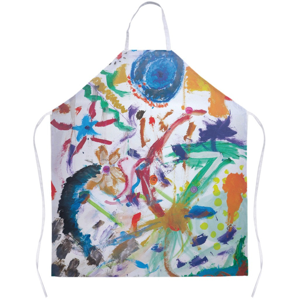 Bright Abstract Apron