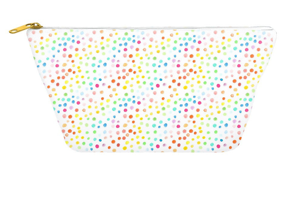 Rainbow Dots Accessory Pouch