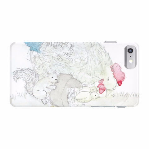 Squirrel & Chickens Phone Case