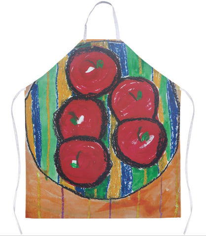 Bowl of Apples Apron
