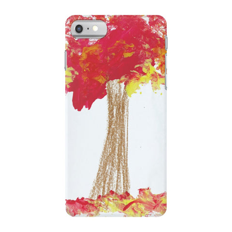 Red Tree Phone Case