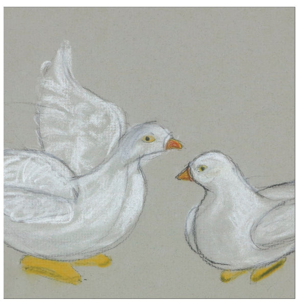 White Birds Note Cards