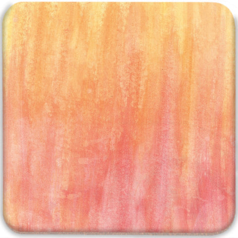 Orange Abstract Coasters