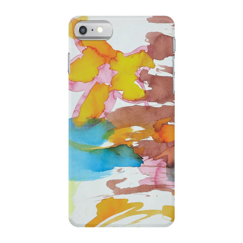 Bright Watercolor Flowers Phone Case