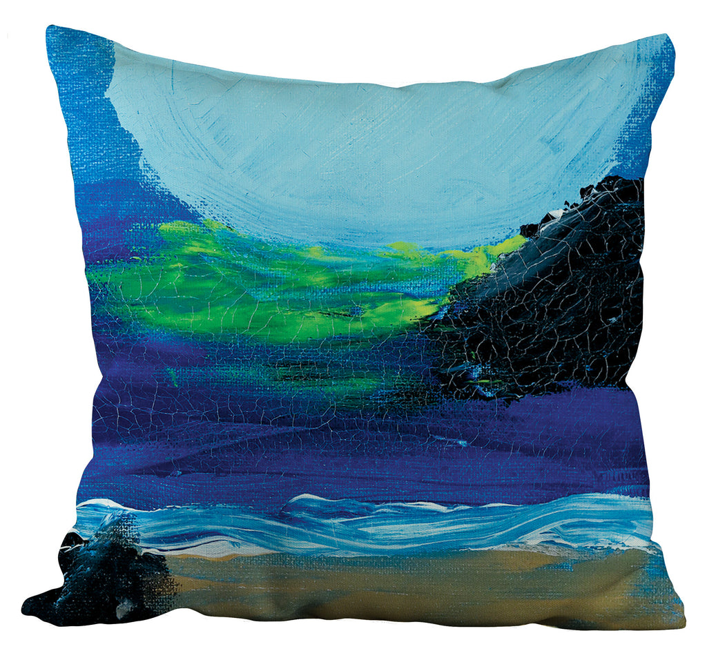 Blue Night Pillow
