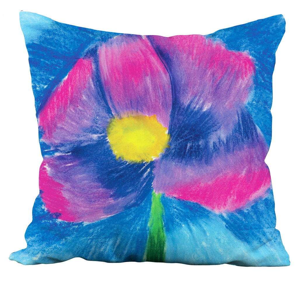 Pastel Flower Pillow