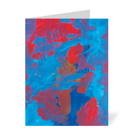 Abstract 2 Note Cards