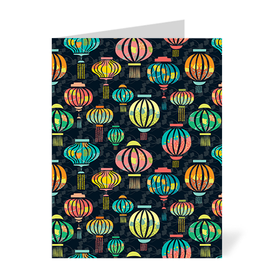 Lantern Festival Note Cards
