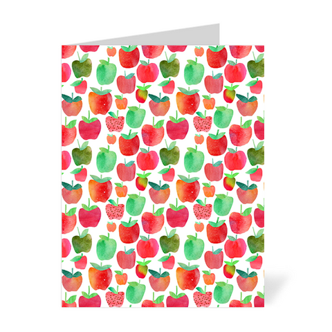 Apples Note Cards