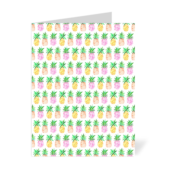 Watercolour Pineapple Note Cards