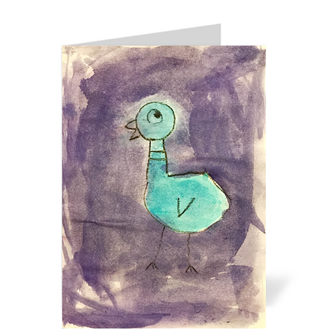 Pigeon Note Cards