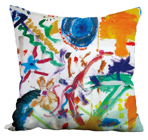 Bright Abstract Pillow