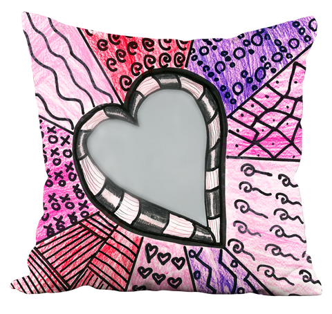 Hearts 2 Pillow