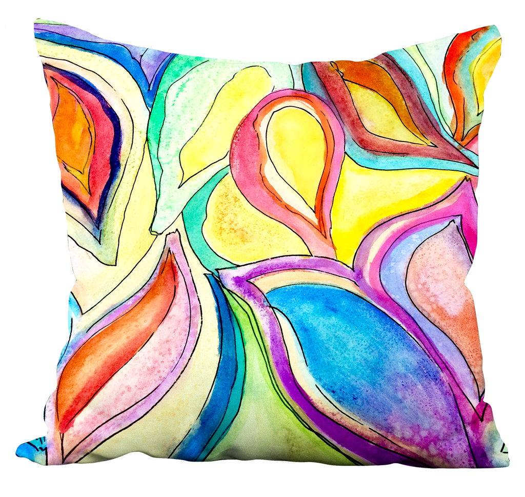 Bright Leaves Pillow