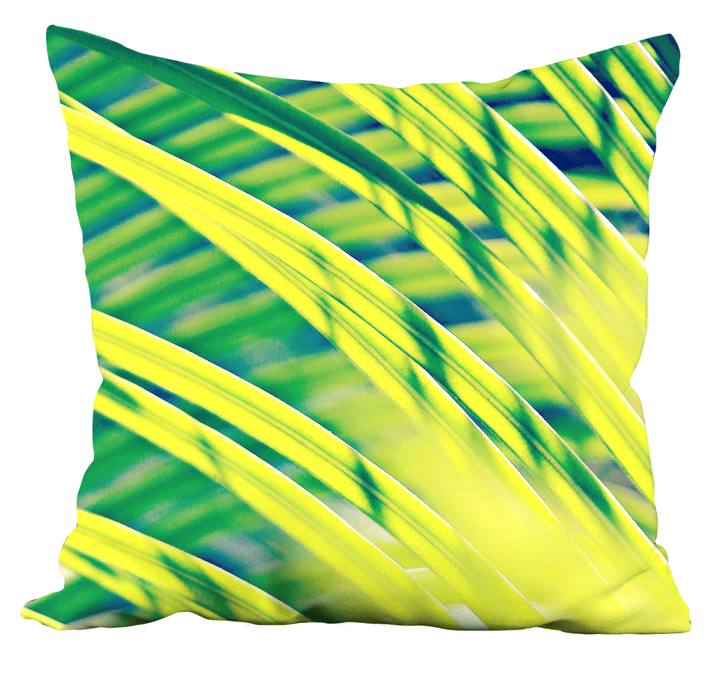 Tropical Abstract Pillow