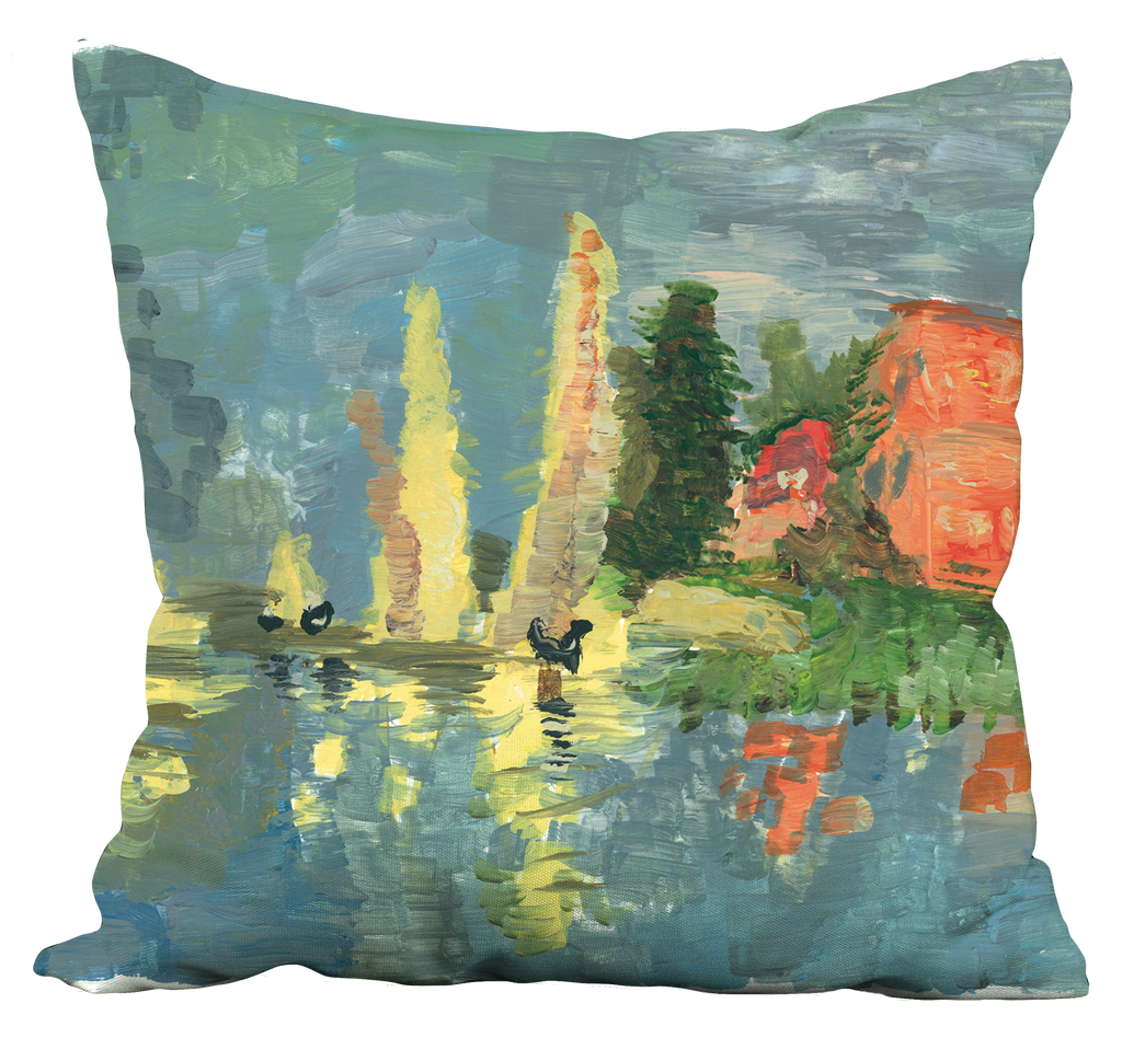 Lake Reflections Pillow