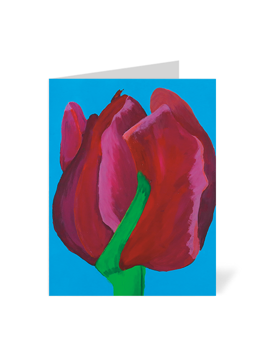 Red Flower Note Cards