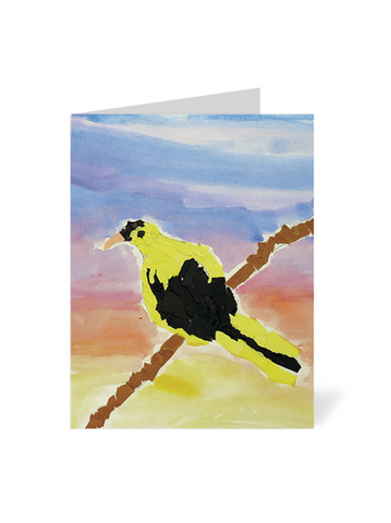 Bird on a Branch Note Cards
