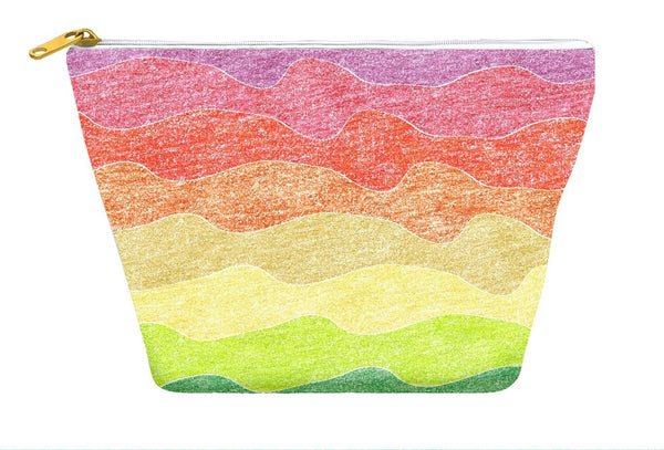 Crayon Waves Accessory Pouch