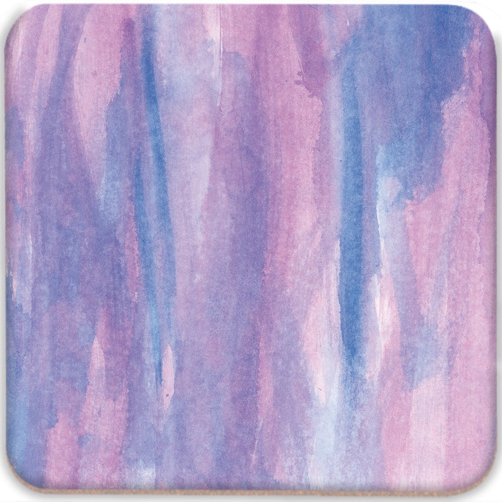 Purple Abstract Coasters