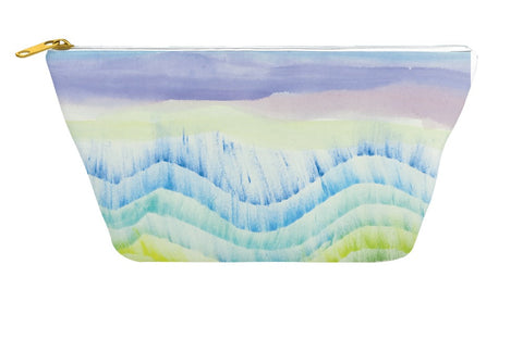 Beach Waves Accessory Pouch