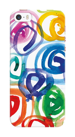 Watercolor Swirls Phone Case