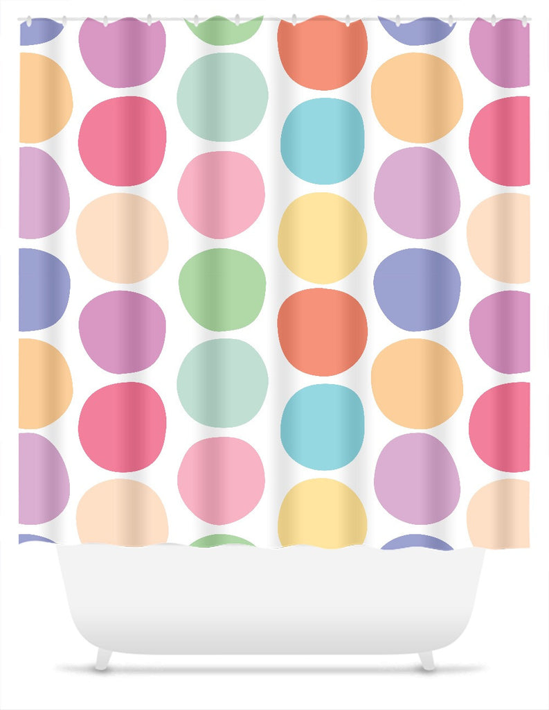 Gumball Shower Curtain