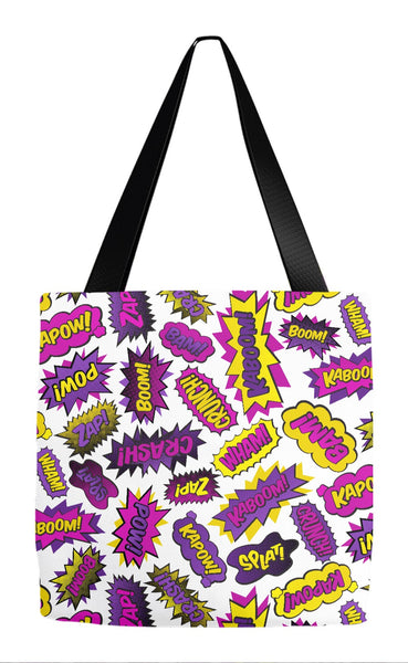 Super Words Tote Bag