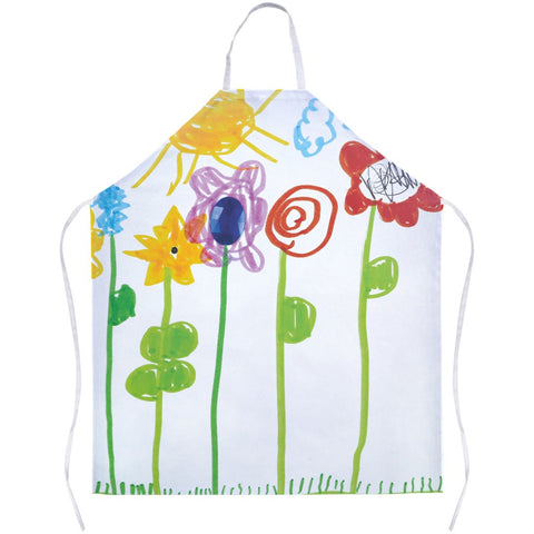 Bumble Bee Flowers Apron