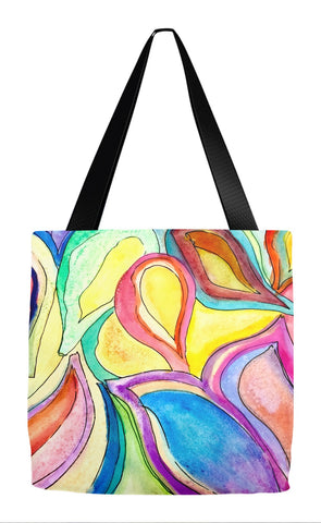 Bright Leaves Tote Bag