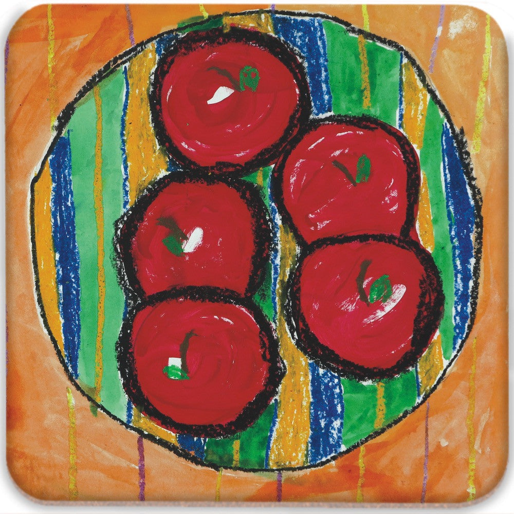 Bowl of Apples Coasters