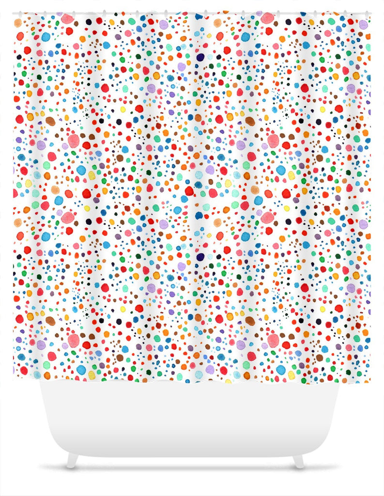 Speckles Shower Curtain