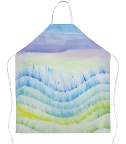 Beach Waves Apron