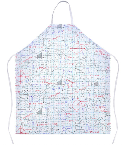 Math Lessons Apron