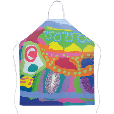 Abstract Glitter Animal Apron